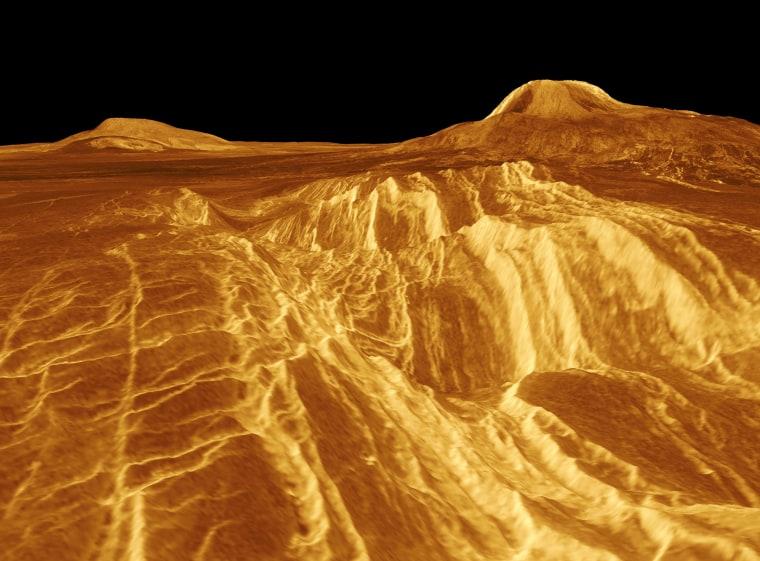 Image: Venusian surface