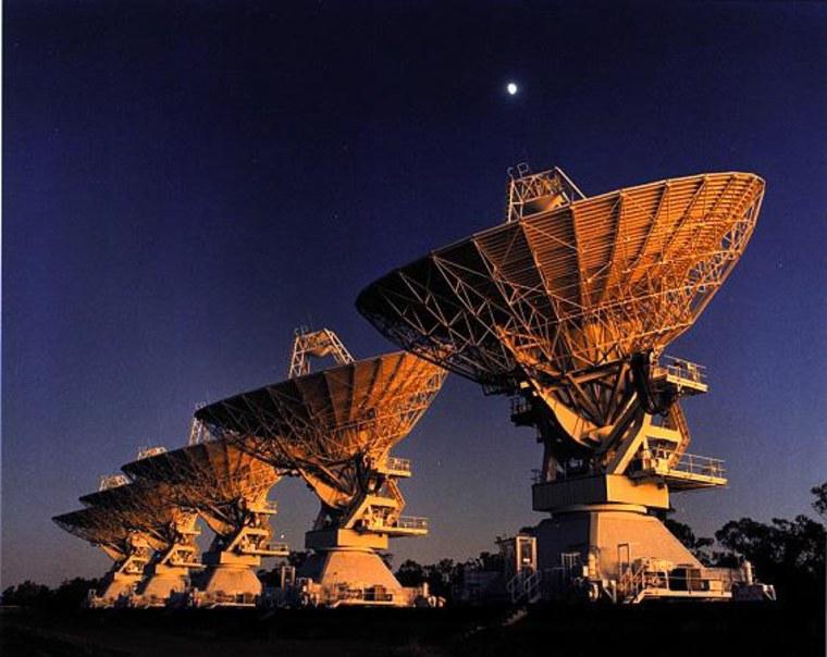 Image: Radio telescopes