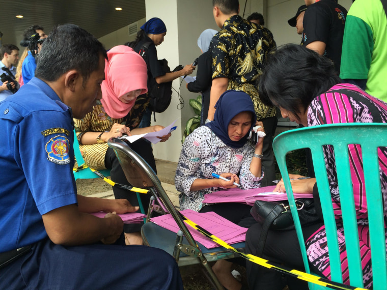 Image: Authorities in Surabaya, Indonesia