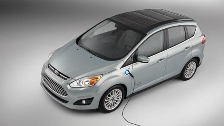 Ford has developed a concept car that runs primarily on solar power.