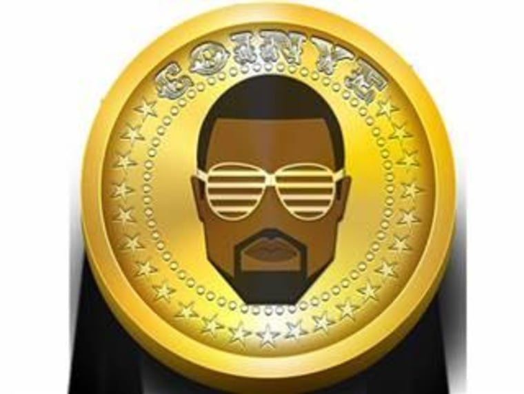 Coinye West logo.