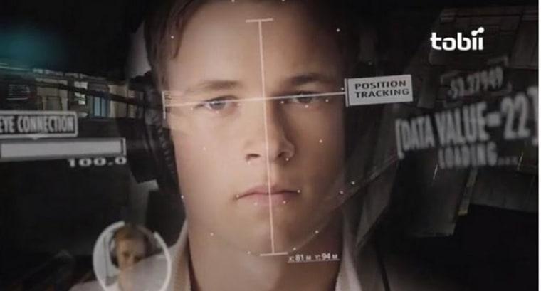 IMAGE: Tobii eye-tracking