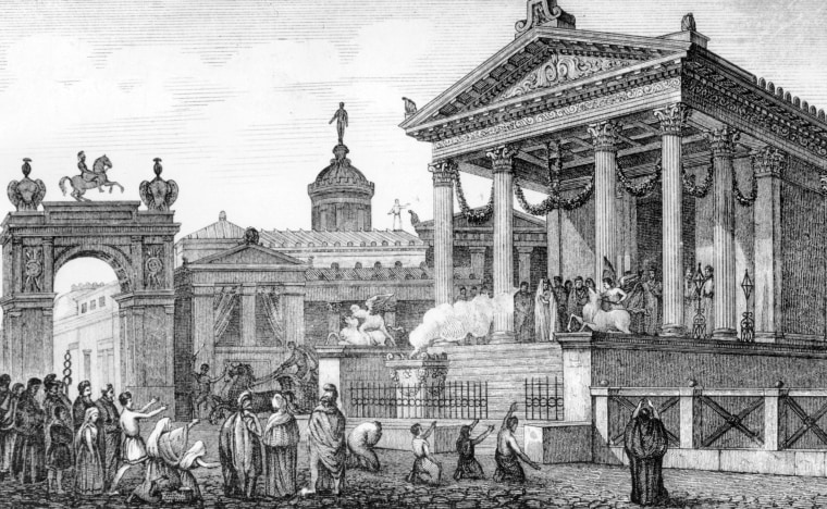 Pompeii Temple Of Fortune