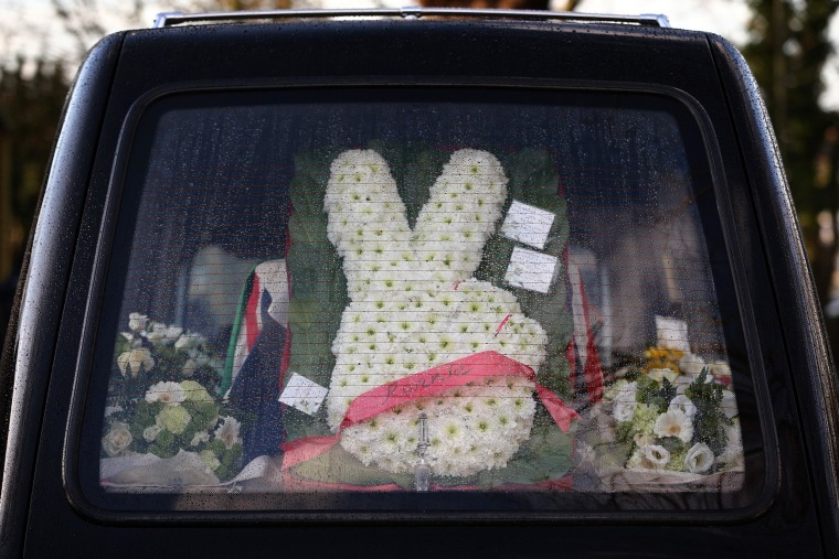 Image: Ronnie Biggs funeral flowers