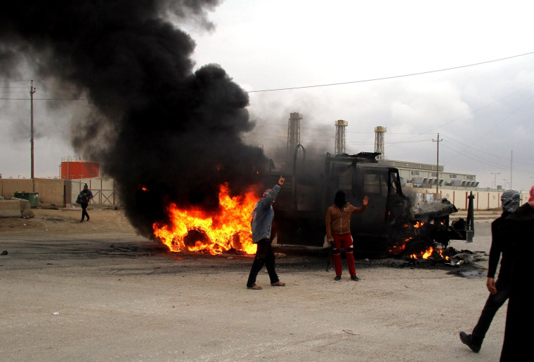 Image: Clashes in Iraq