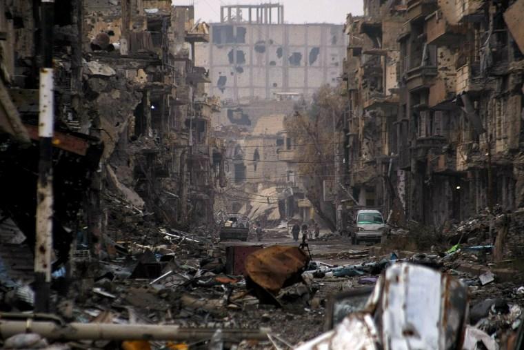 Image: Syria conflict