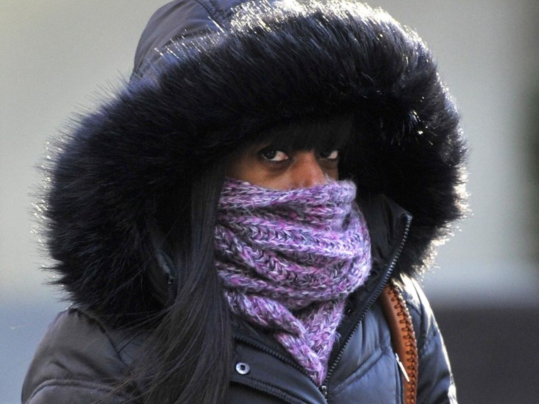Image: US-WEATHER-COLD