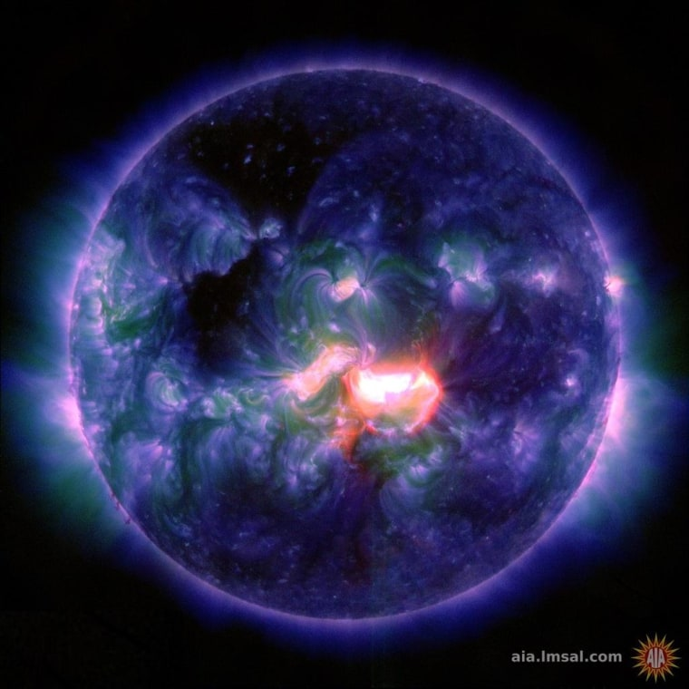 Image: Active sun