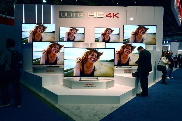 Image: Toshiba Ultra HD 4K televisions