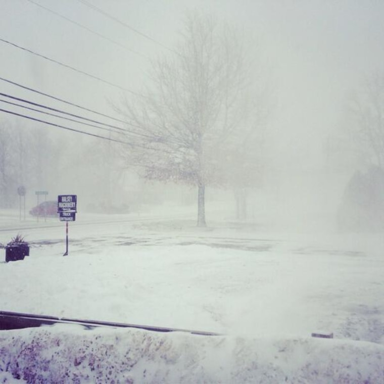 Image: White out in Mexico, NY