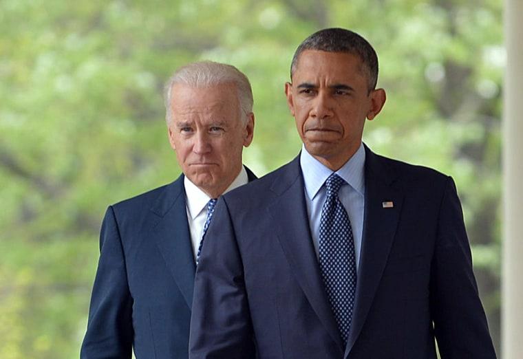 Image: President Barack Obama and Vice President Joe Biden