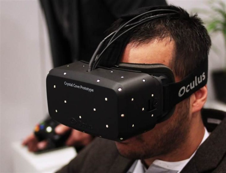 New Oculus Rift virtual reality headset