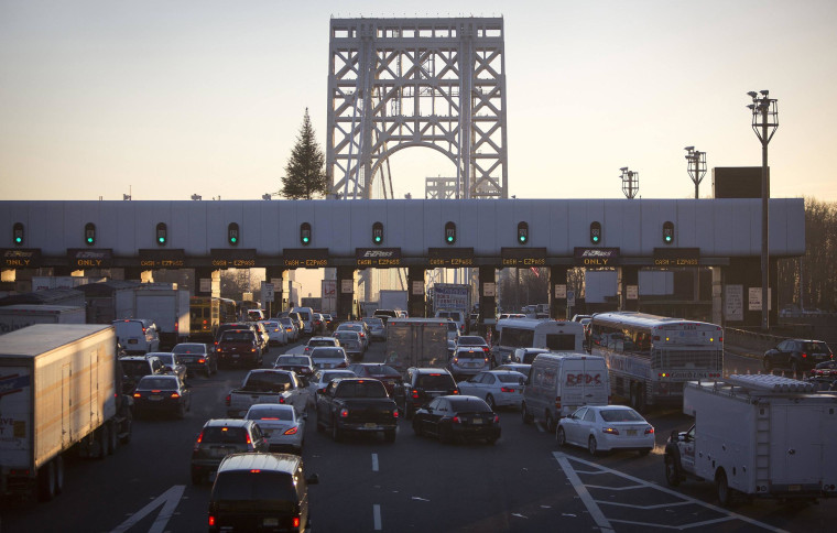 It's the traffic, stupid. The George Washington Bridge is the busiest in the world for drivers, carrying more than a quarter million vehicles per day.