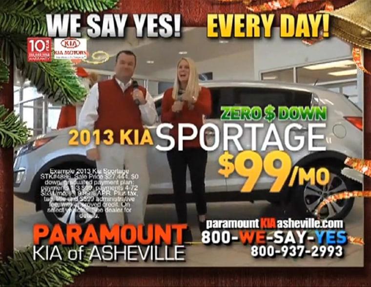 Image: Car sales ad