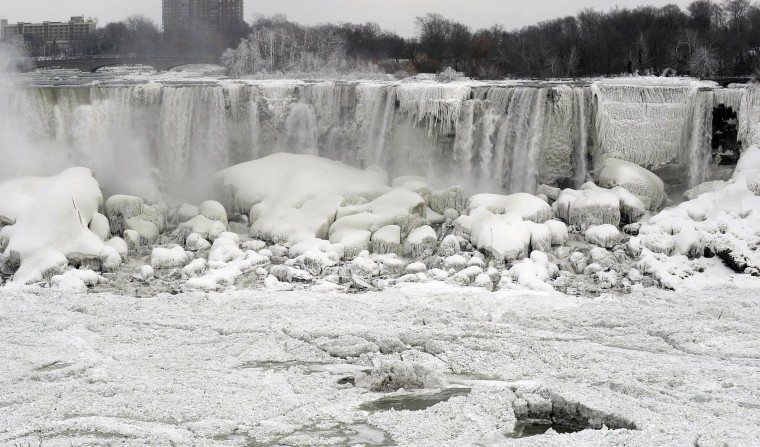 Image: The American Falls shown from Niagara Falls