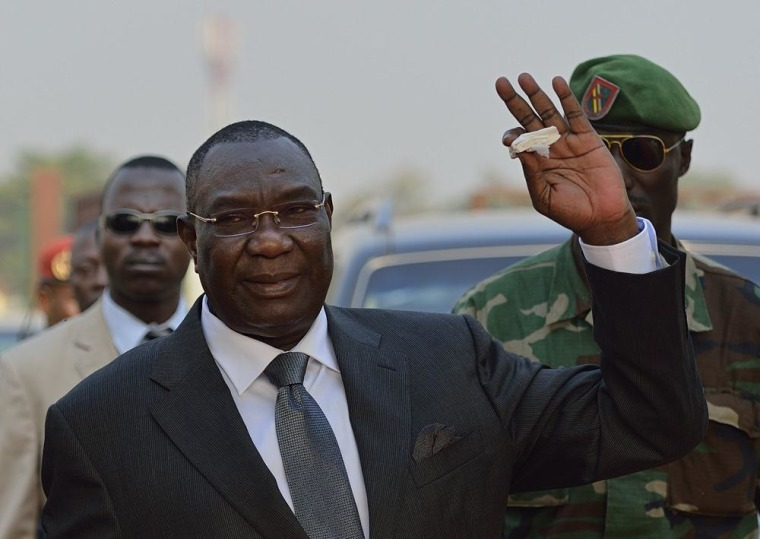 Central African Republic president Michel Djotodia  resigned on Friday.
