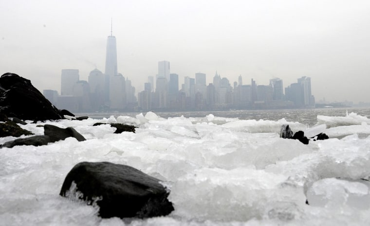 Image: Cold weather in New York
