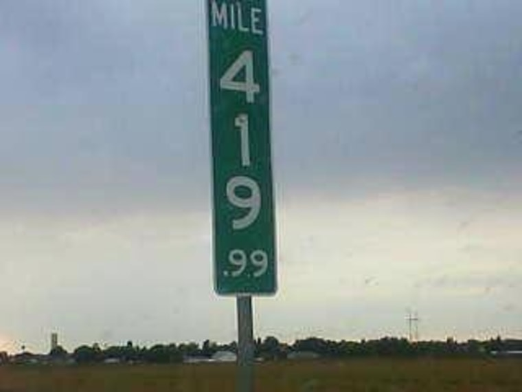 Colorado Changes 420 Mile Marker Sign to Ward Off Heists