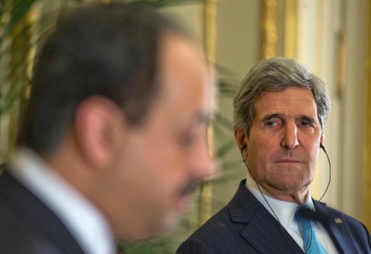 Image: John Kerry, Khalid al-Attiyah