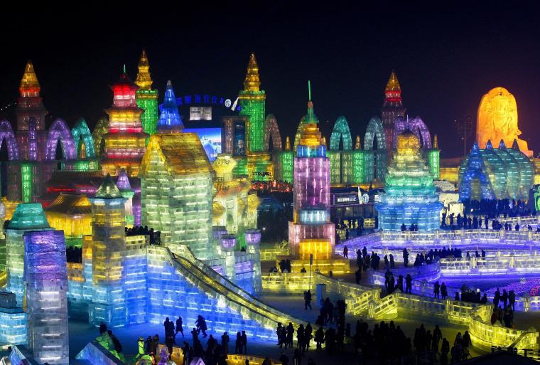 Image: Harbin International Ice and Snow festival