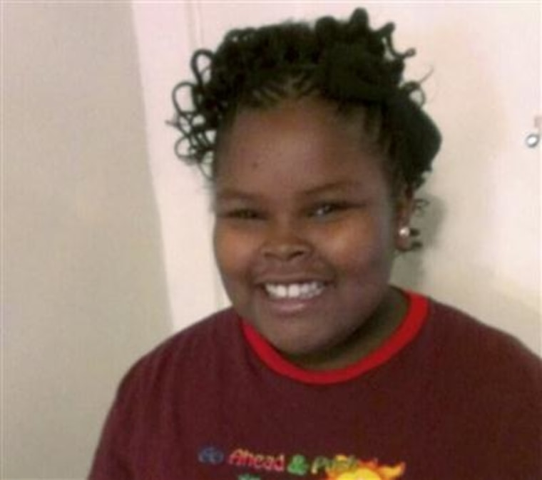 Image: Jahi McMath, who was declared brain-dead following a supposedly routine tonsillectomy.