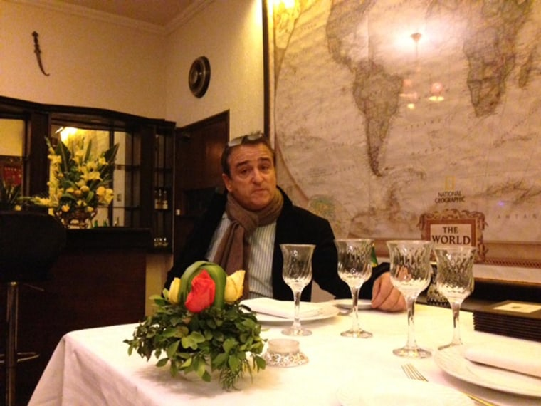 Image: Philippe Lafforgue, owner of Islamabad's La Maison restaurant, defends his controversial policy
