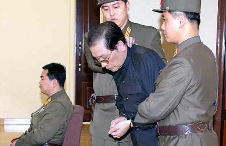 Image: N. Korea's No. 2 man Jang Song-thaek executed for treason