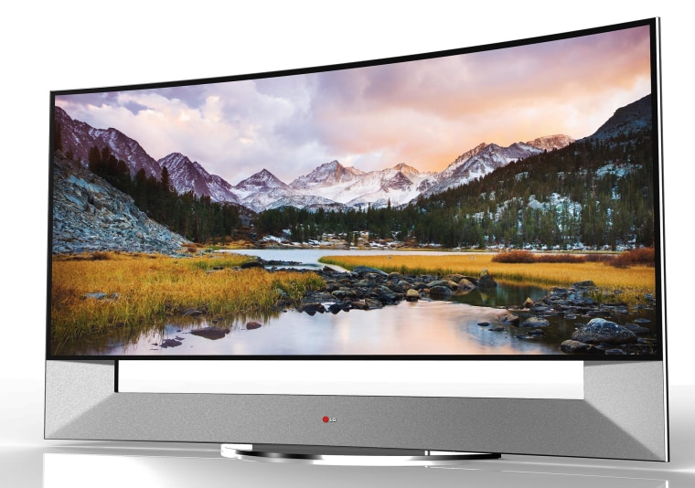 LG's new 105-inch curved TV is very, very expensive.