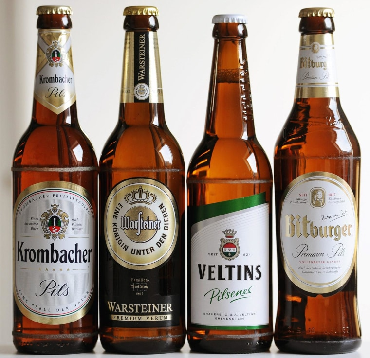Image: German brewers hit with millions in fines for price collusion
