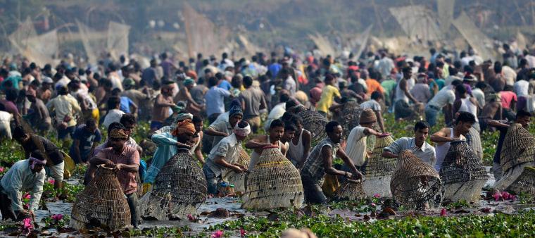Image: Magh Bihu festival marking end of winter harvesting