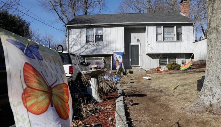 Image: Massachusetts home where two children inside a hope chest