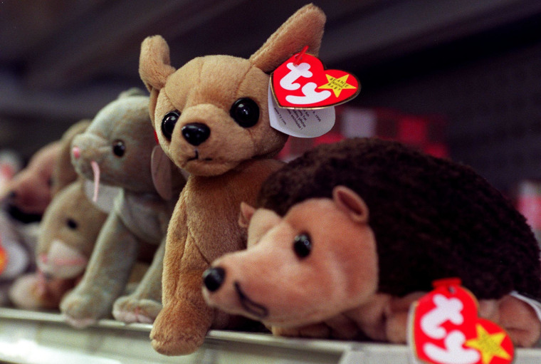 The billionaire creator of Beanie Babies will be sentenced Tuesday for evading taxes on $25 million in income.