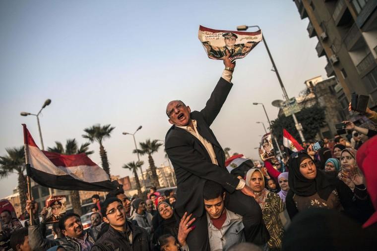 Image: TOPSHOTS-EGYPT-POLITICS-UNREST-VOTE