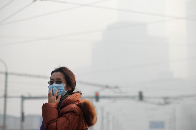 Image: CHINA-ENVIRONMENT-POLLUTION
