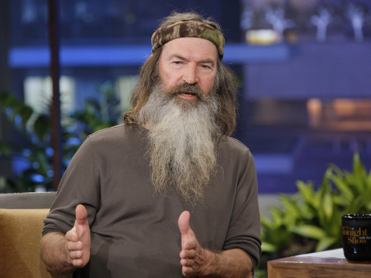 """""""Duck Dynasty"""" patriarch Phil Robertson's anti-gay comments sparked a controversy last month that may have led to a decline in viewers."""