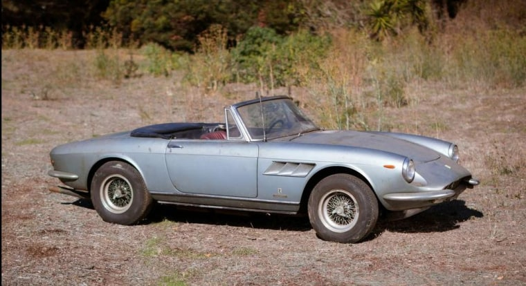 Rusty old 1967 Ferrari up for auction and could fetch $2 million