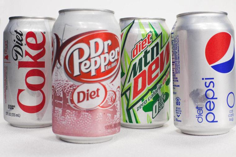 Image: Diet sodas