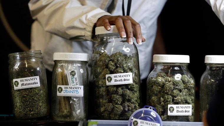 Image: Marijuana strains in Seattle.