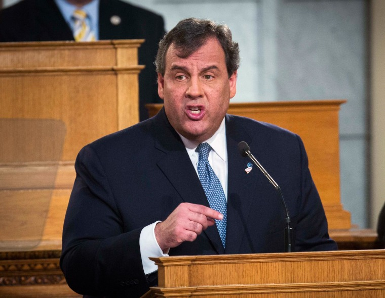 Image: New Jersey Governor Christie