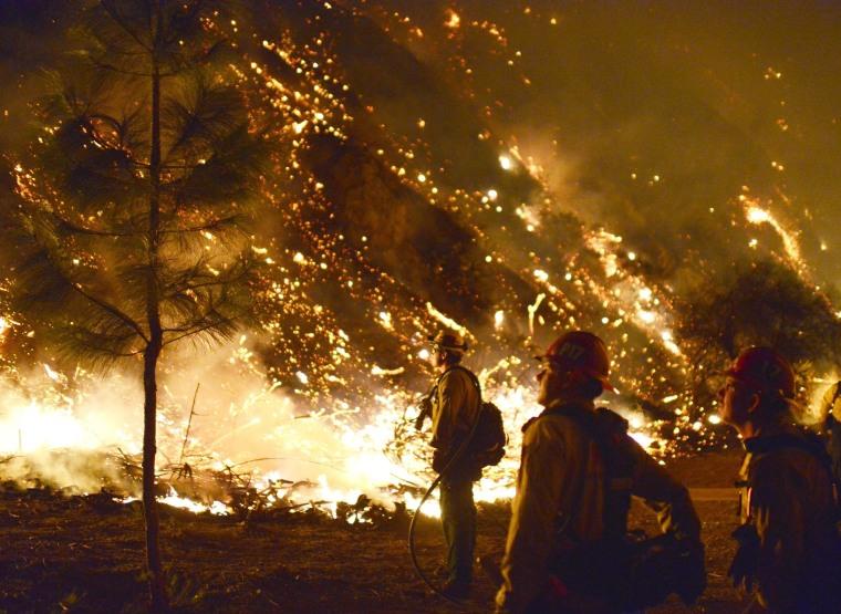 Image: California wild fire