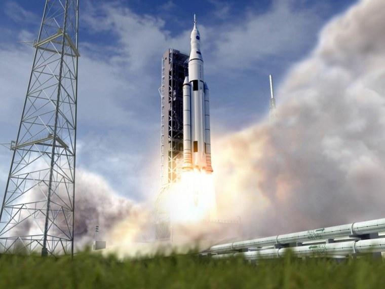 Image: SLS launch