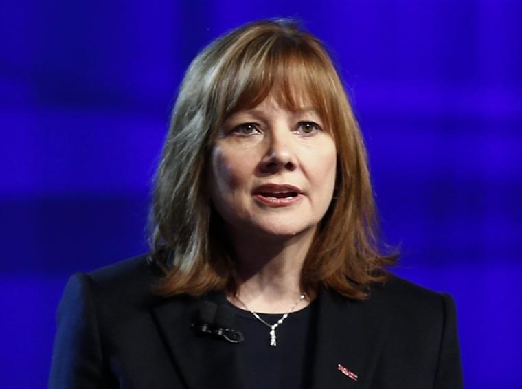 Image: New General Motors CEO Mary Barra