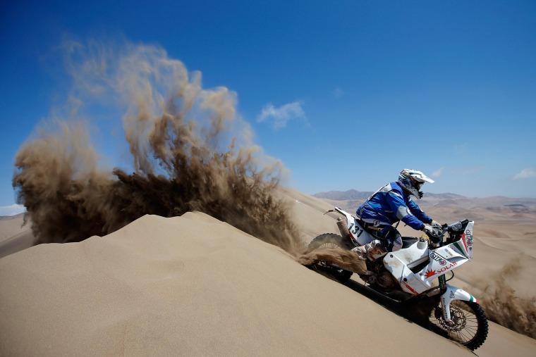 Image: 2014 Dakar Rally