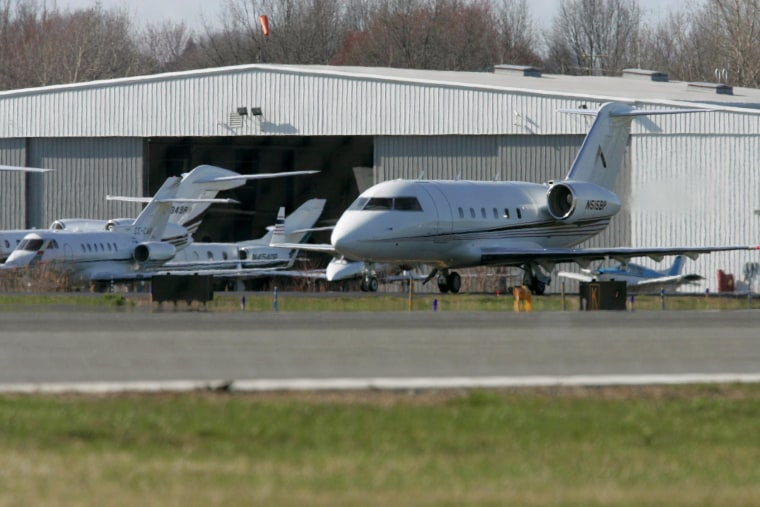 Private planes arriving at Teterboro, Newark and Kennedy International airports from Jan. 29 through Feb. 3 will need reservations and must pay an extra $250 to defray extra Super Bowl-related costs.
