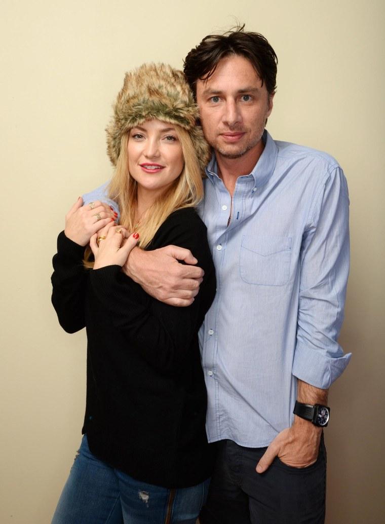 Image: Kate Hudson and Zach Braff