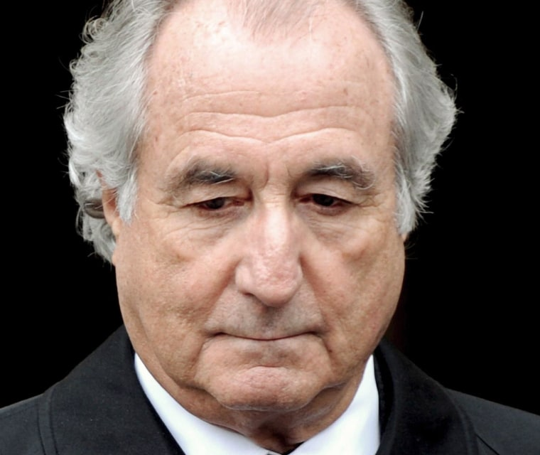 Fraudster Bernard Madoff is back in prison after being hospitalized last month for a heart attack.