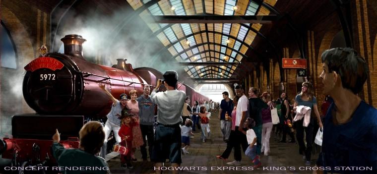 Image: Hogwarts Express train