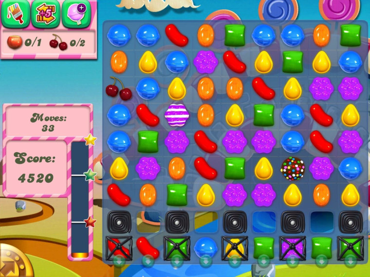 """""""Candy Crush Saga"""" has been a massive success on mobiles and Facebook."""