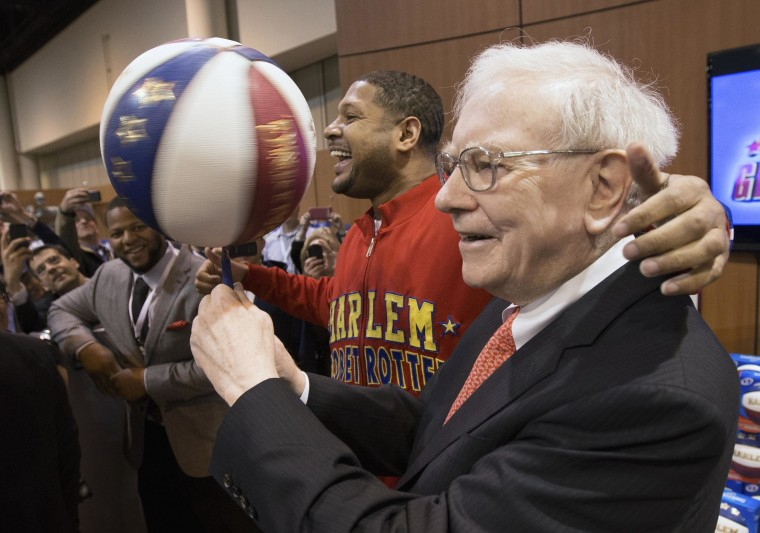 Image: Berkshire Hathaway Chairman and CEO Warren Buffett
