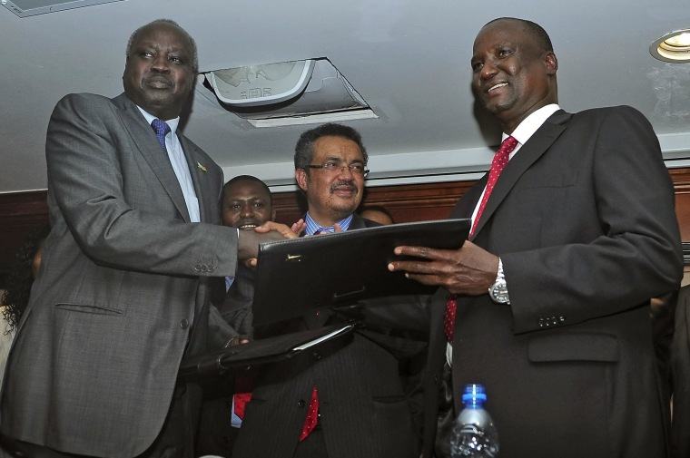 Image: South Sudan government signs ceasefire agreement with rebels